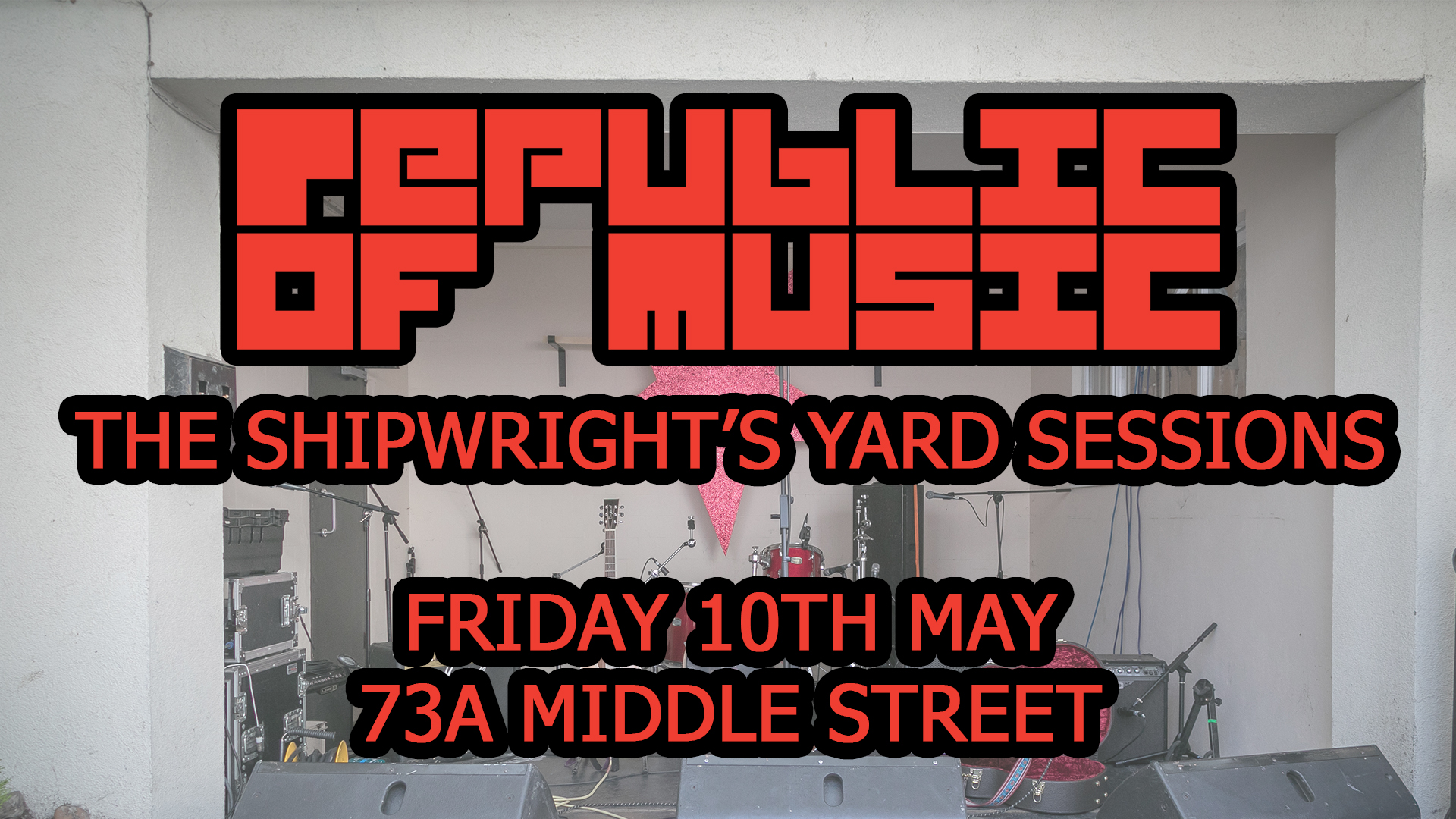 The Shipwrights Yard Sessions 2019 – LINE-UP ANNOUNCED