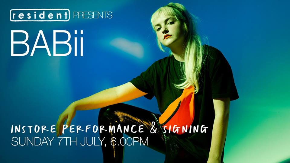 GIG OF THE WEEK – BABii *** in-store & signing***