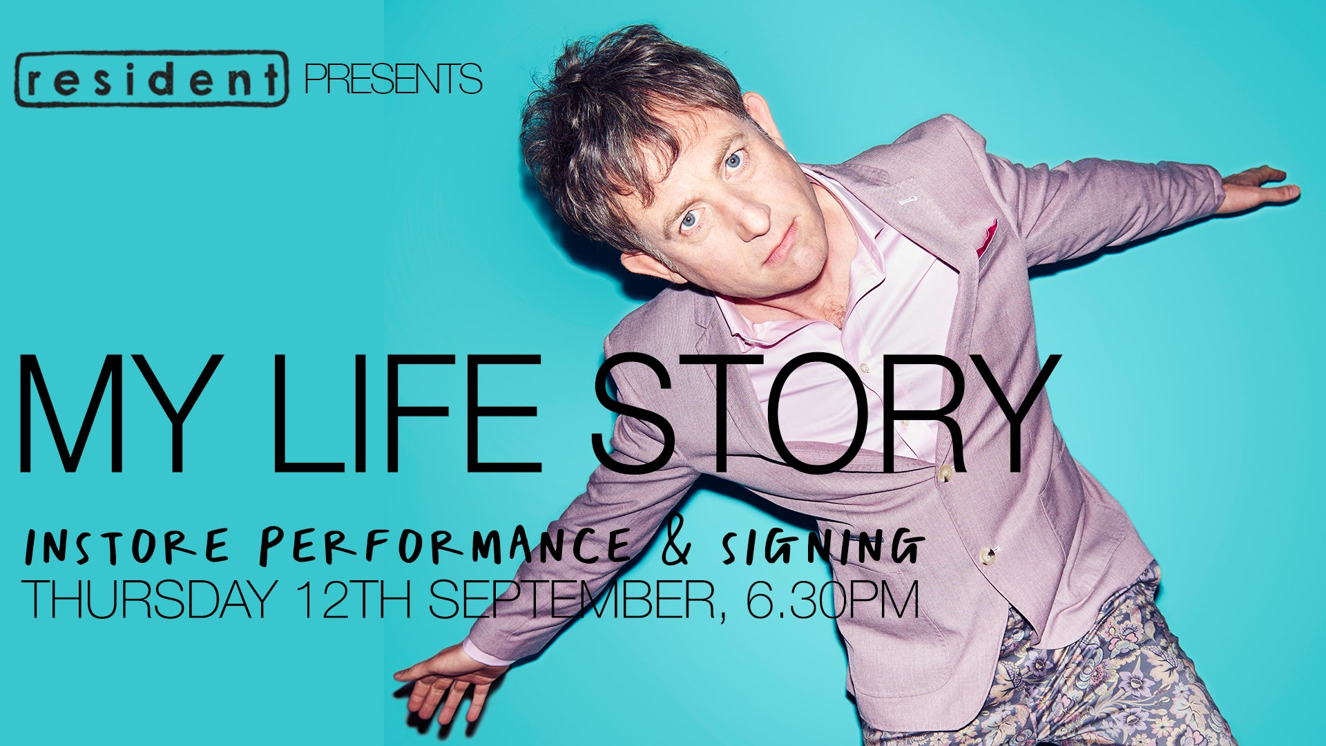 My Life Story *** live in-store & signing ***