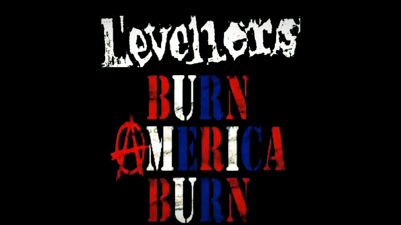 Video From The Vaults. The Levellers Burn America Burn